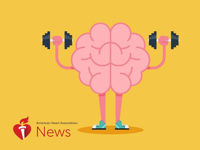 AHA News: Keeping Your Brain Sharp Isn't About Working More Puzzles