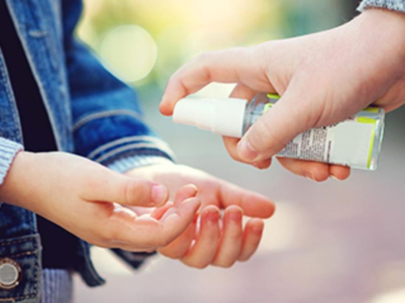 More Kids Suffering Eye Injuries From Hand Sanitizers