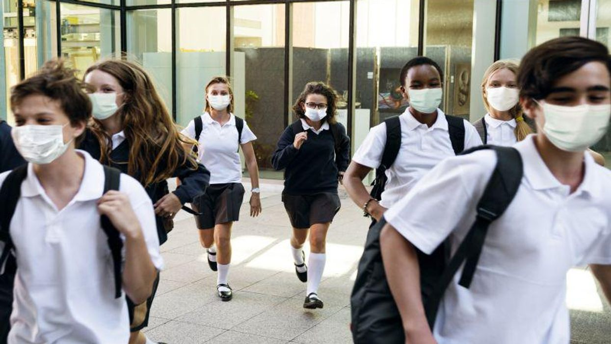 Most High School Students Are OK With Wearing Masks: Survey