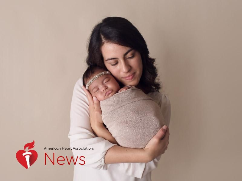 AHA News: 33 Weeks Pregnant, an Emergency Delivery and Heart Failure