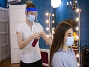 Hair Salon Talk Can Spread COVID, But Face Shields Cut the Danger