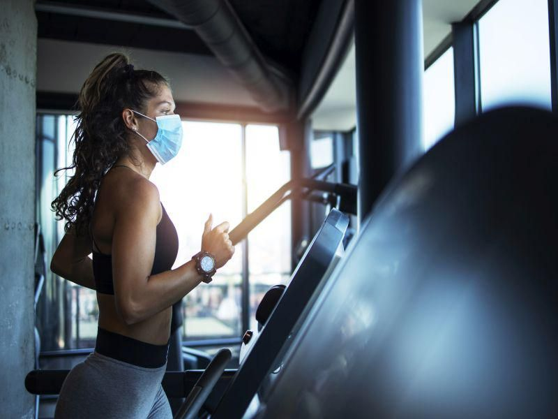 Wearing a Mask Won`t Ruin Your Workout, Study Shows