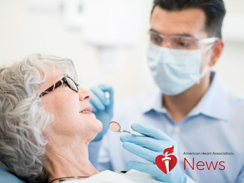 News Picture: AHA News: How Oral Health May Affect Your Heart, Brain and Risk of Death