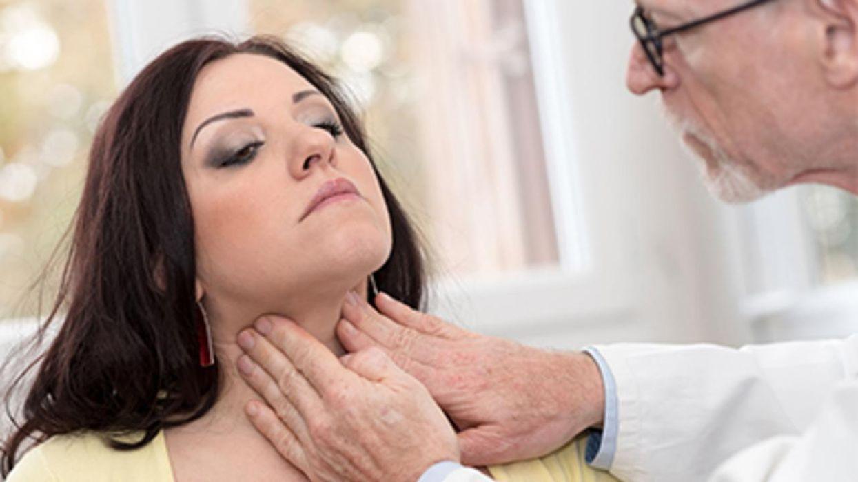 Un estudio nuevo encontró que el COVID-19 podría desencadenar problemas de tiroides en algunos pacientes
