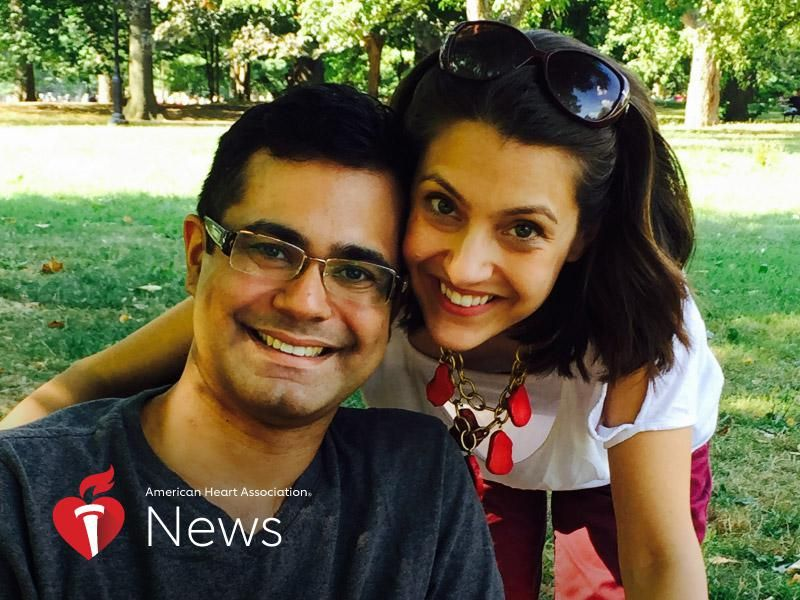 News Picture: AHA News: Heart Failure at 35 Helped New York Cardiologist Better Care for Patients