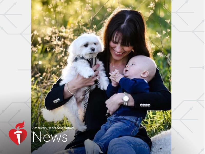 AHA News: When Her Heart Stopped After Her Dog Died, Doctors Said It Was Broken Heart Syndrome