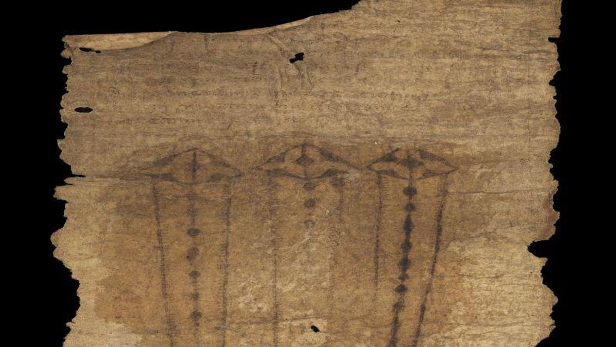 Medieval English Birth Scroll