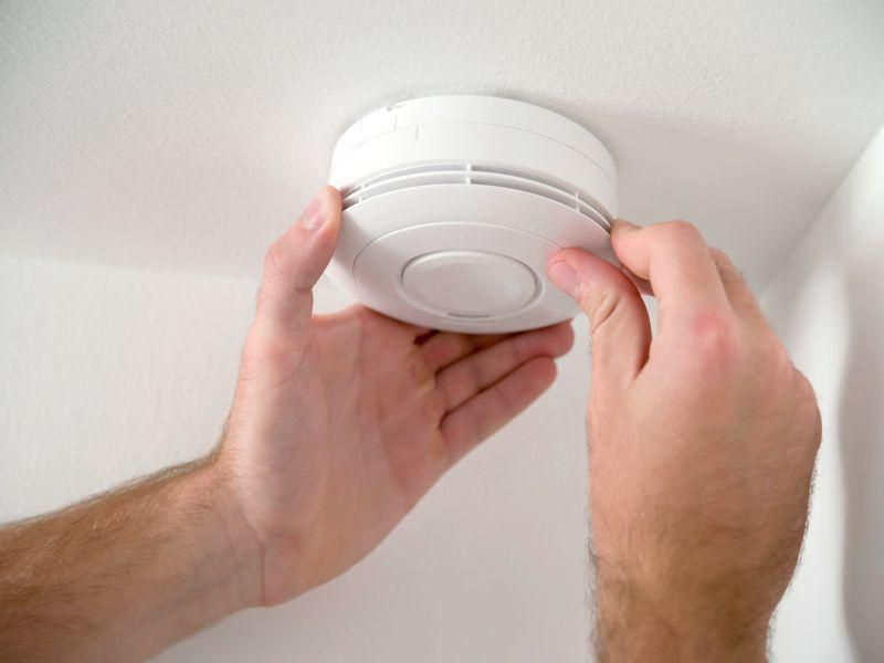 News Picture: 'Spring Forward' This Weekend By Checking Your Home Smoke Alarms