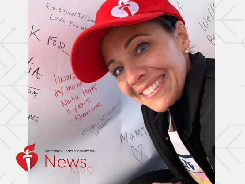 AHA News: After Stroke, Heart Surgery and Heart Attack, Runner Vows to Reclaim Her Strength thumbnail