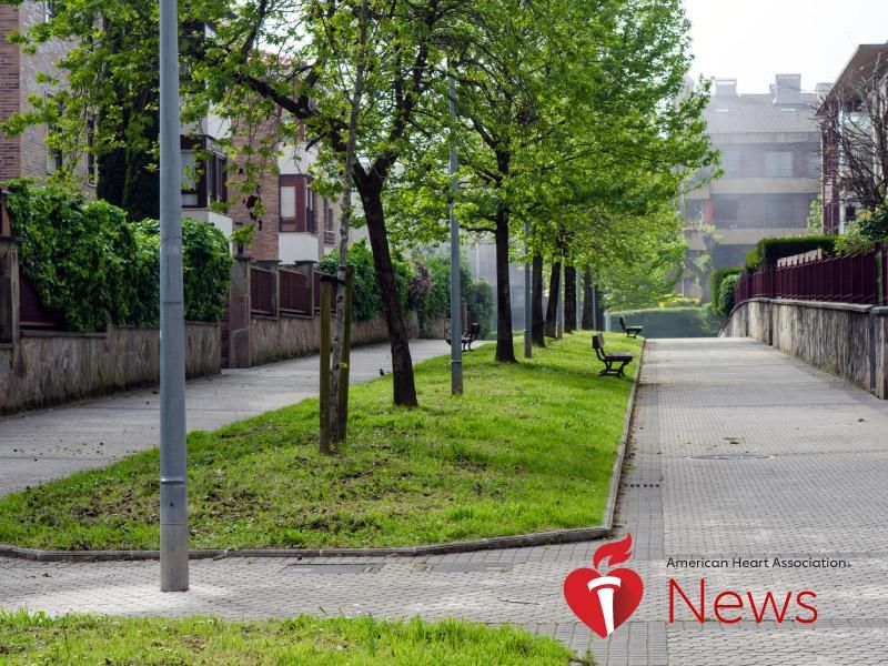 AHA News: Study Links Green Communities to Lower Stroke Risk