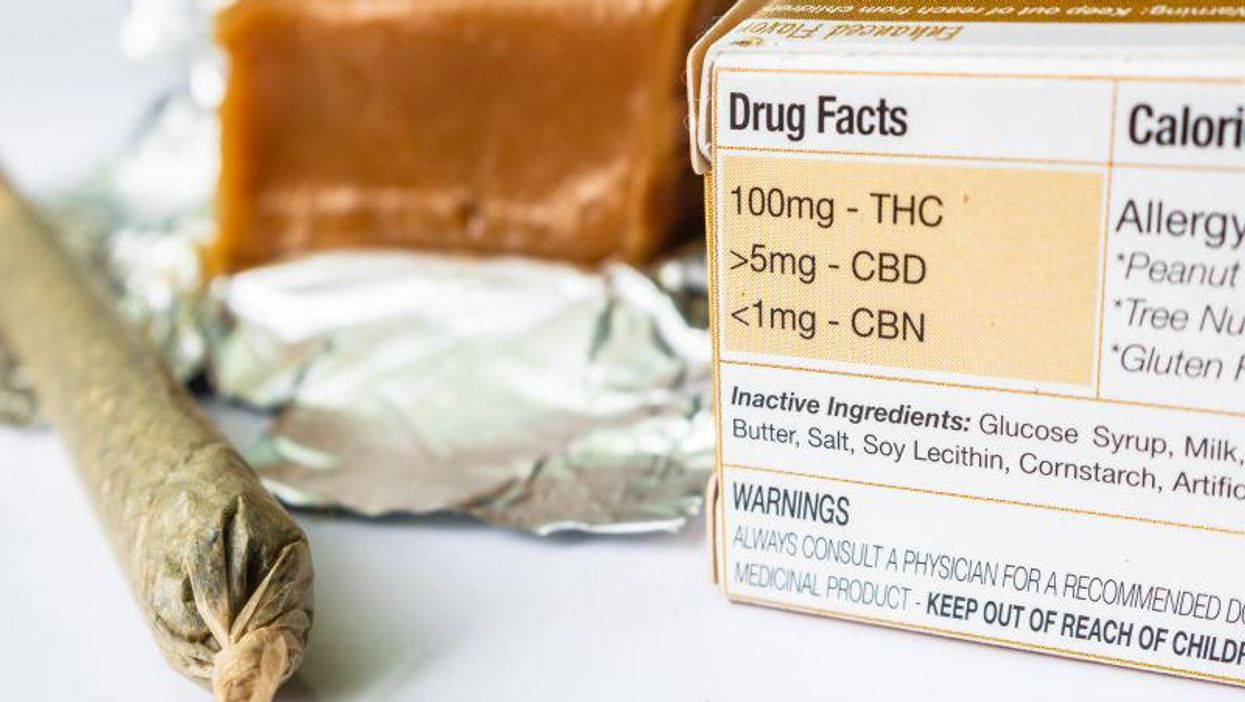 pot marijuana CBD edible