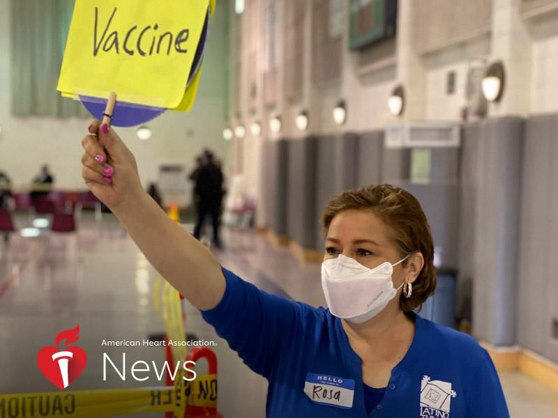 News Picture: AHA News: How to Make Sure Everyone Gets a Fair Shot at the COVID-19 Vaccine