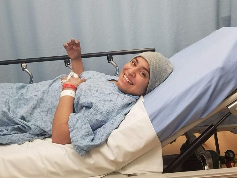 News Picture: She's Beating Leukemia With a Healthy Change to Her Diet