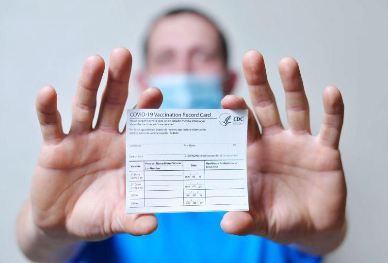 News Picture: You Got Your COVID Shot: What to Do With That Vaccine Card