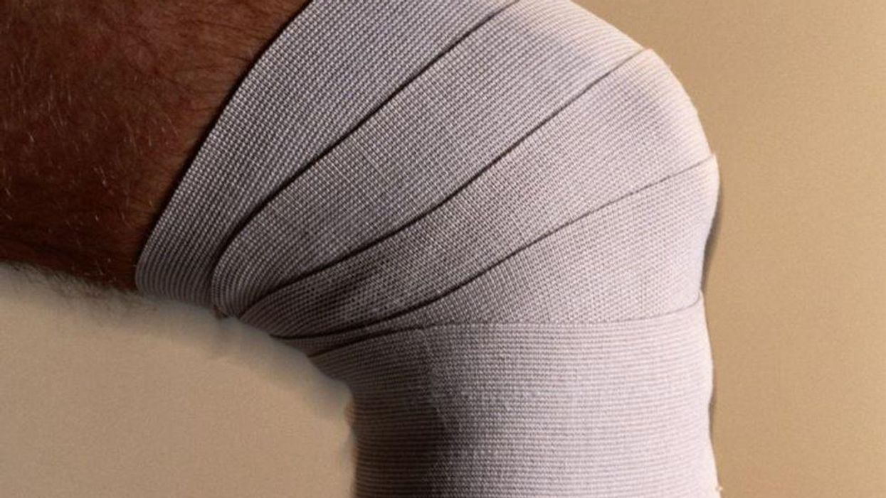 sprain knee bandage