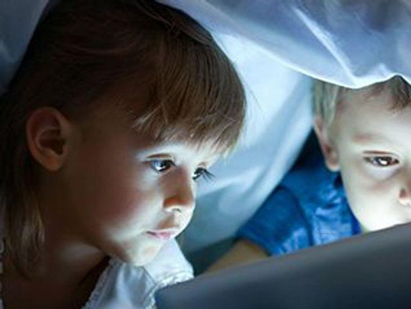 For Toddlers, More Time Watching Screens Mean Less Time Reading