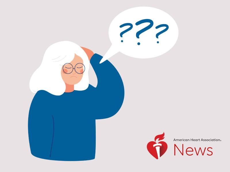 News Picture: AHA News: Is It Normal Aging or Early Signs of Dementia?
