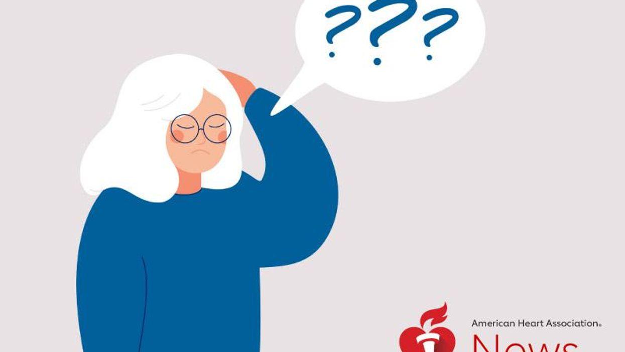 物忘れは正常な老化か認知症の兆候か?――AHAニュース