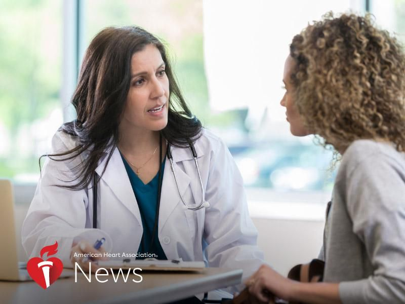 News Picture: AHA News: Menopause Before 40 Tied to Higher Stroke Risk