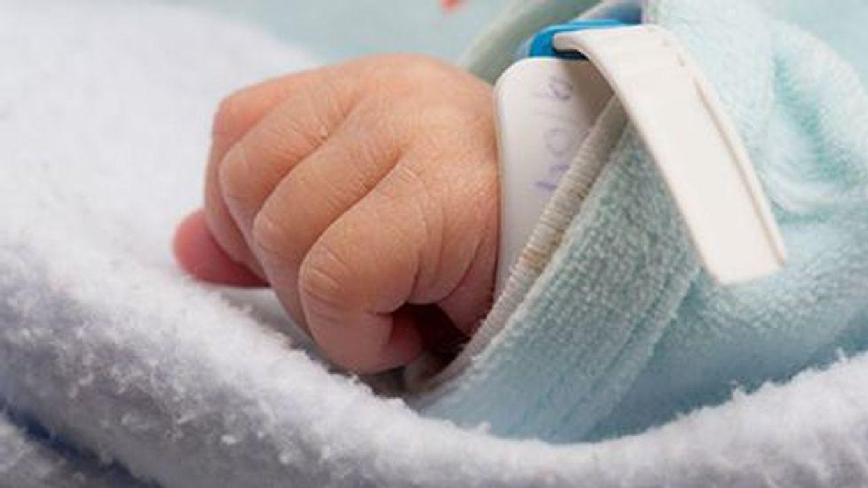 baby infant hand