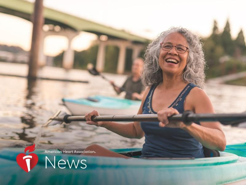 News Picture: AHA News: Overcoming Midlife Barriers to Exercise and Better Health
