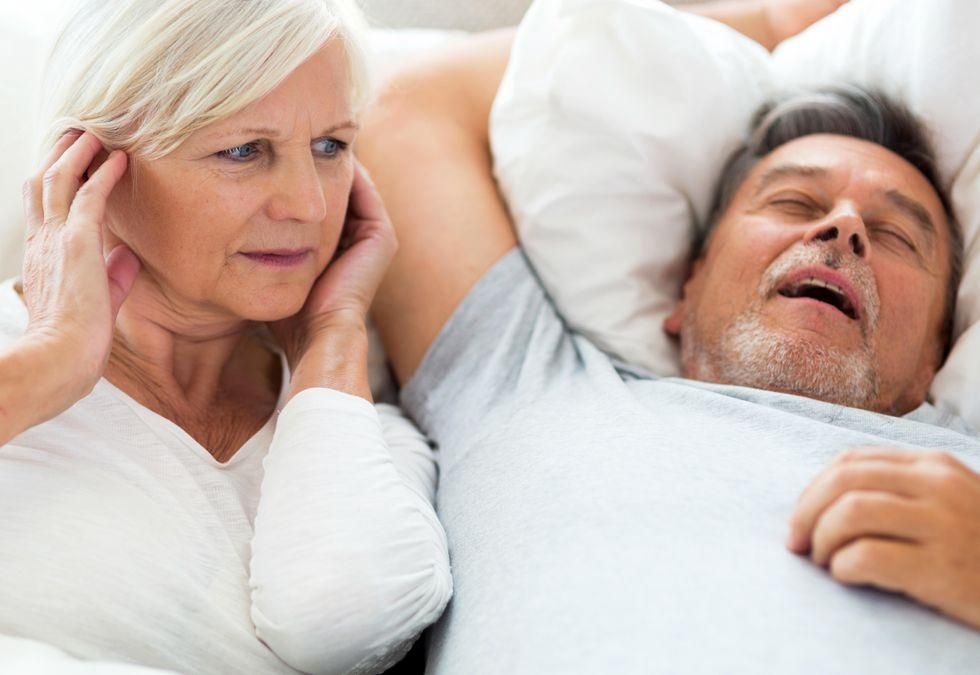 News Picture: More Than a Snore? Recognize the Signs of Sleep Apnea