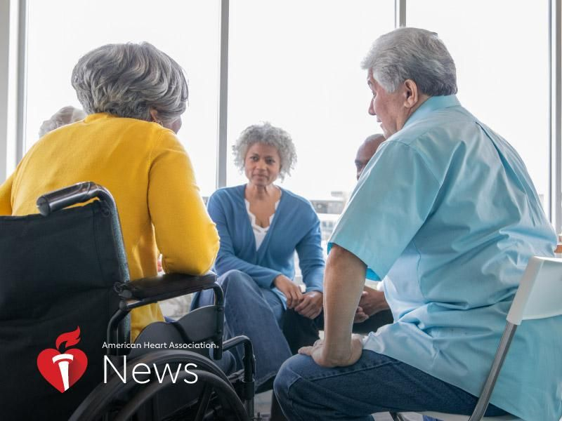 News Picture: AHA News: New Psychotherapy May Reduce Anxiety, Depression in Heart Patients
