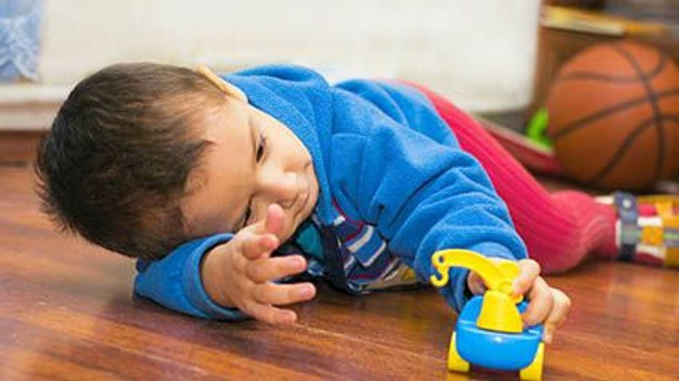 News Picture: 1 in 4 Parents Worries Their Young Child Isn't Reaching Milestones: Poll
