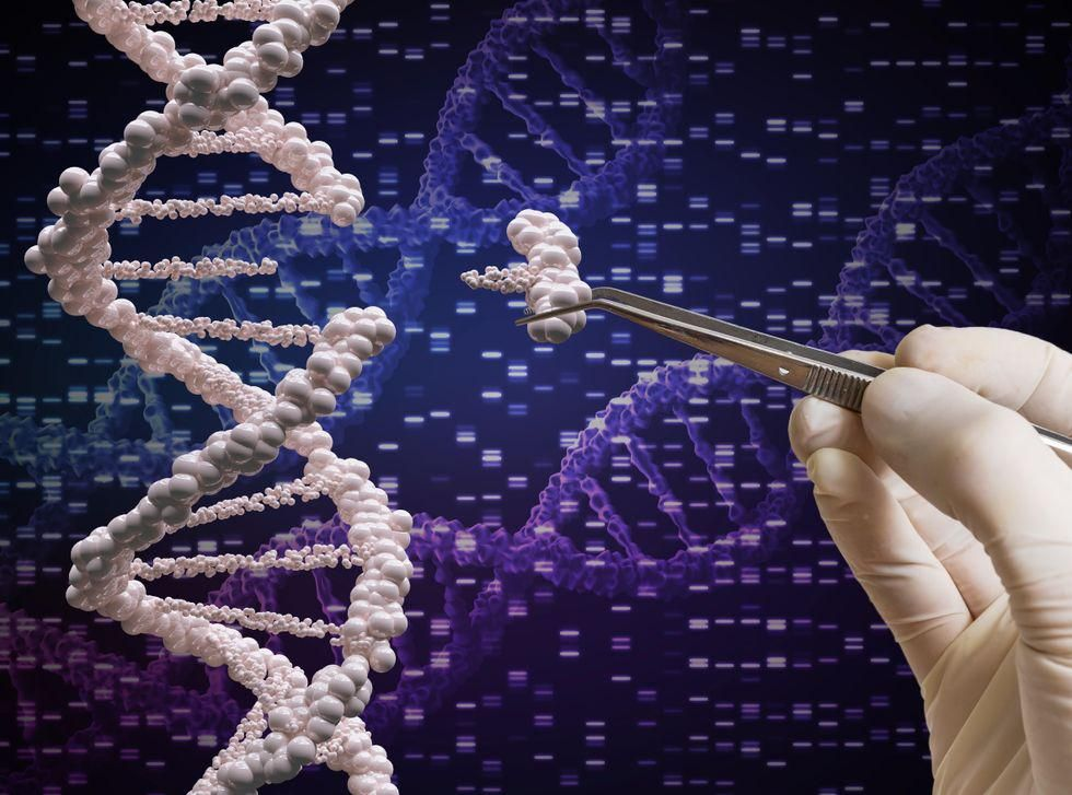 News Picture: CRISPR Therapy Fights Rare Disease Where Protein Clogs Organs