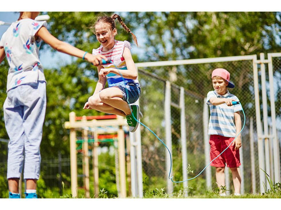 News Picture: Summer Playgrounds Come With Fun and Hazards