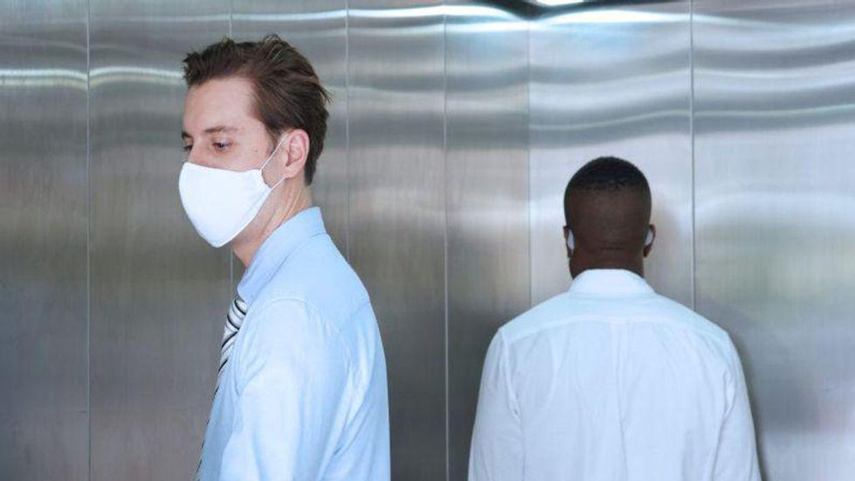 elevator covid coronavirus