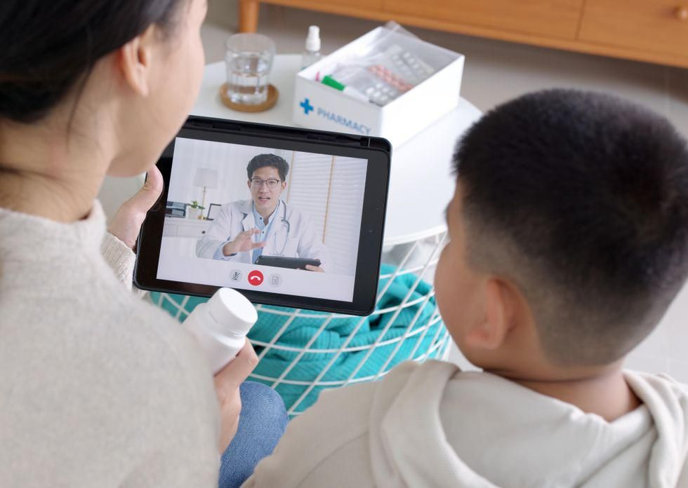 News Picture: Telehealth: Tips for Helping Kids With Autism Take Part