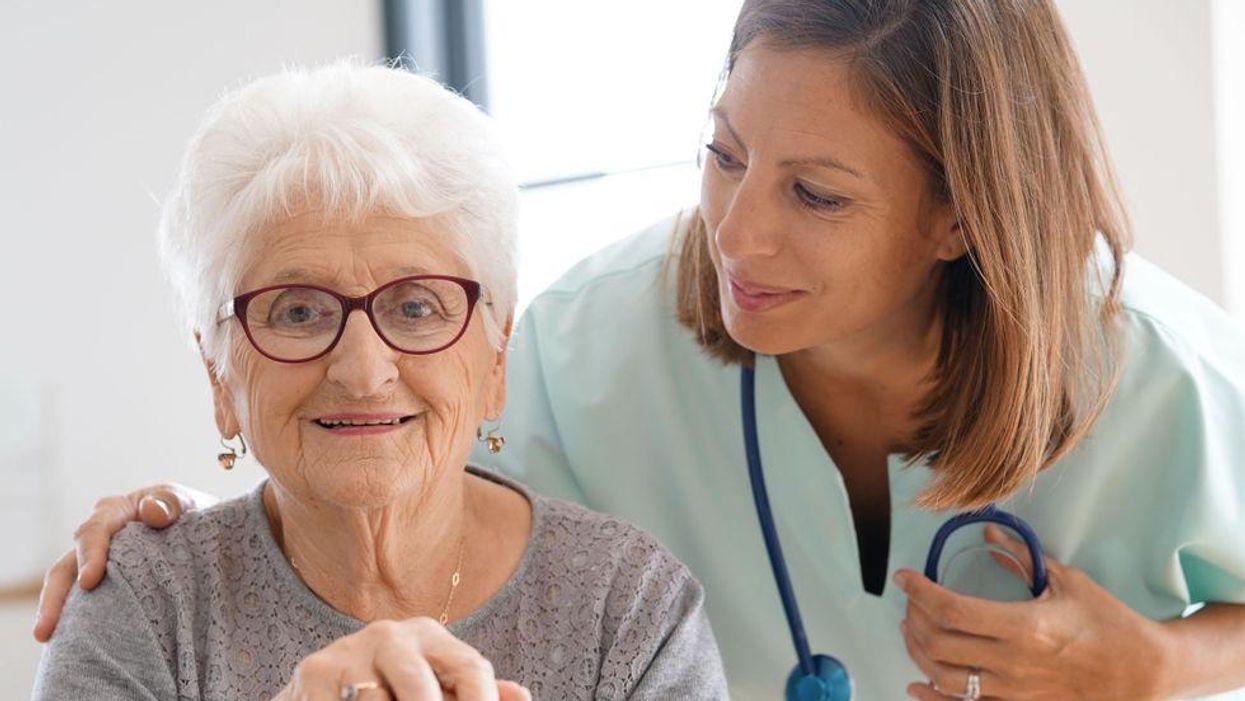 nurse senior dementia
