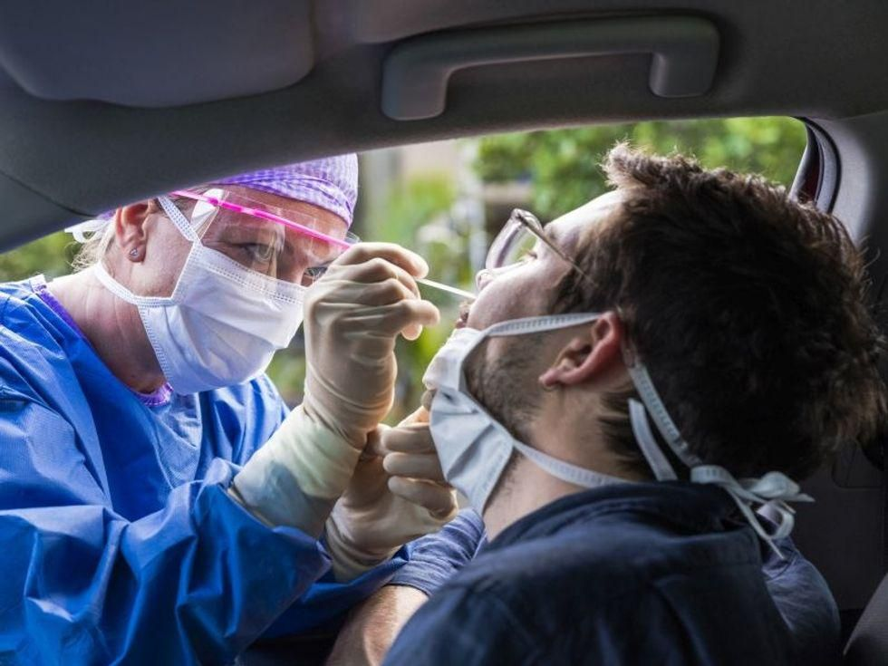 News Picture: New COVID Cases Double in U.S. in Past Three Weeks