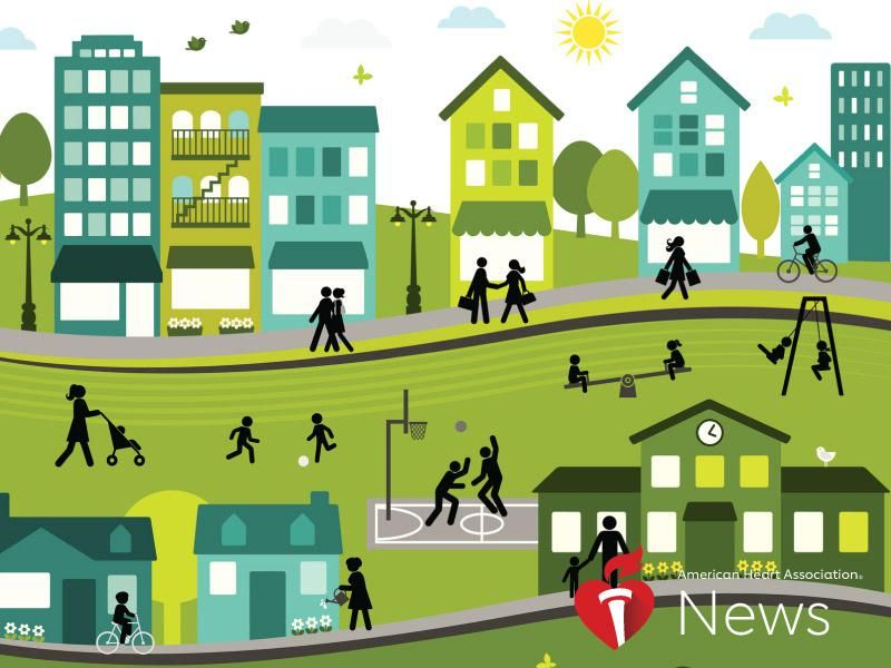 How Healthy Is Your Neighborhood? Where You Live Can Greatly Affect Heart, Brain Health