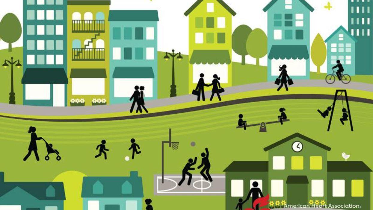 AHA News: How Healthy Is Your Neighborhood? Where You Live Can Greatly Affect Heart, Brain Health