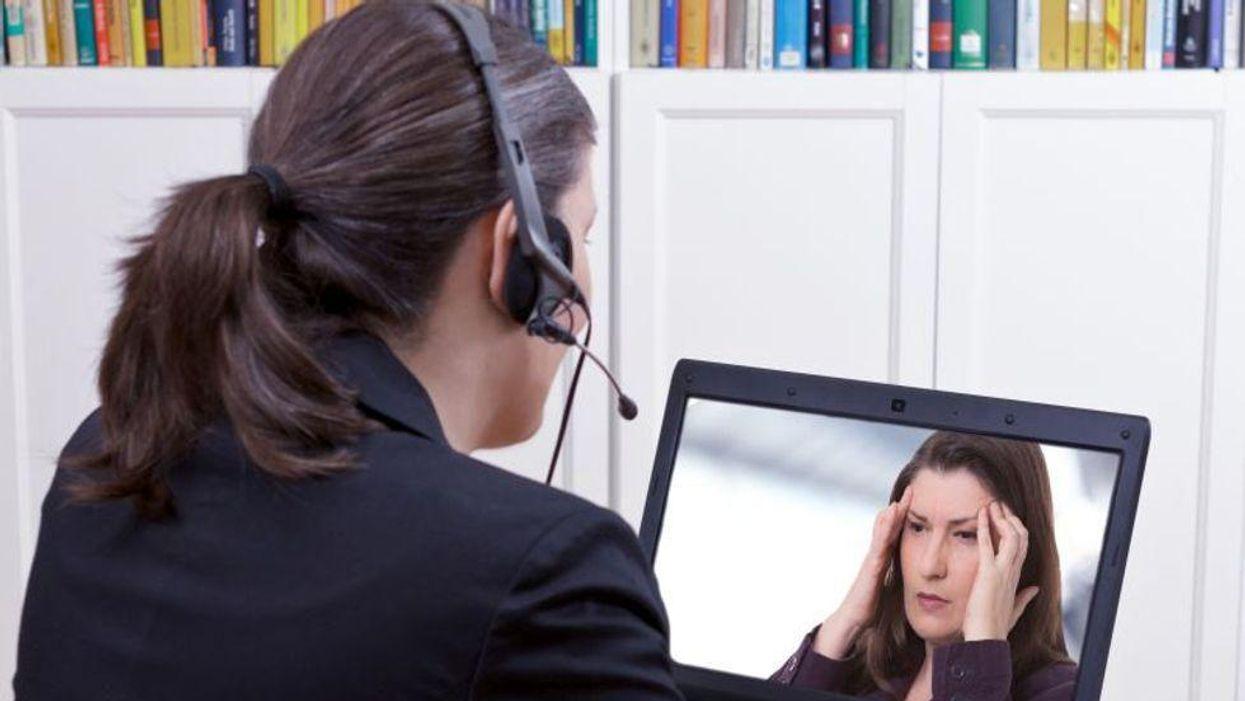 Medical check via computer