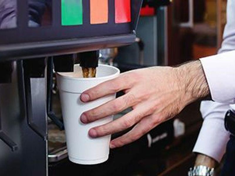 Average Soda Fountain Serving Exceeds Daily Recommended Added Sugars