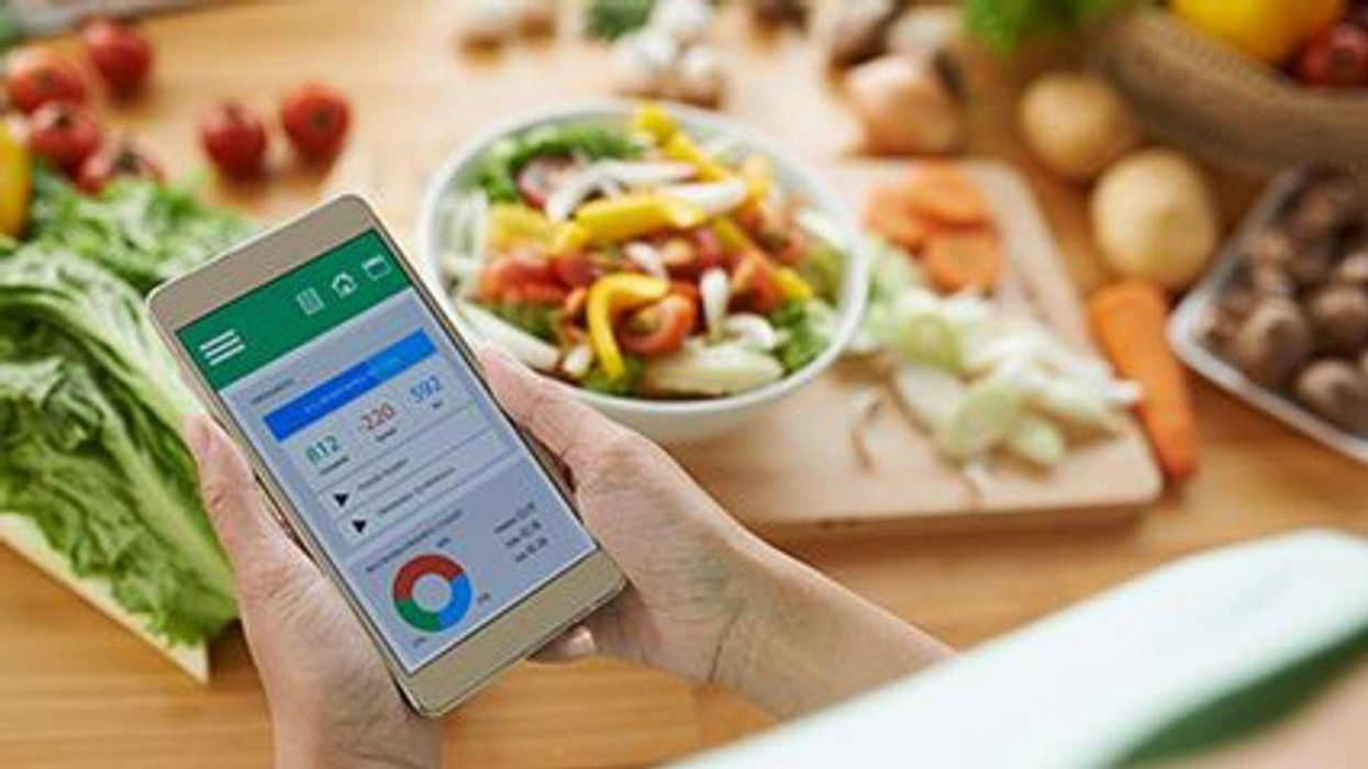 smartphone app counting calories