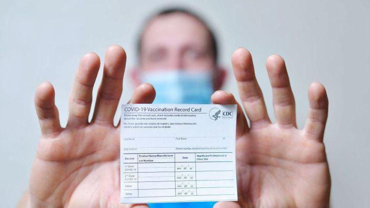 vaccine card COVID