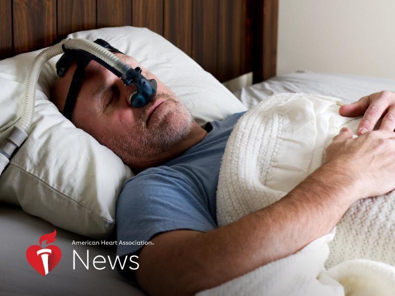 News Picture: AHA News: Severe Sleep Apnea Could Damage Key Blood Vessels
