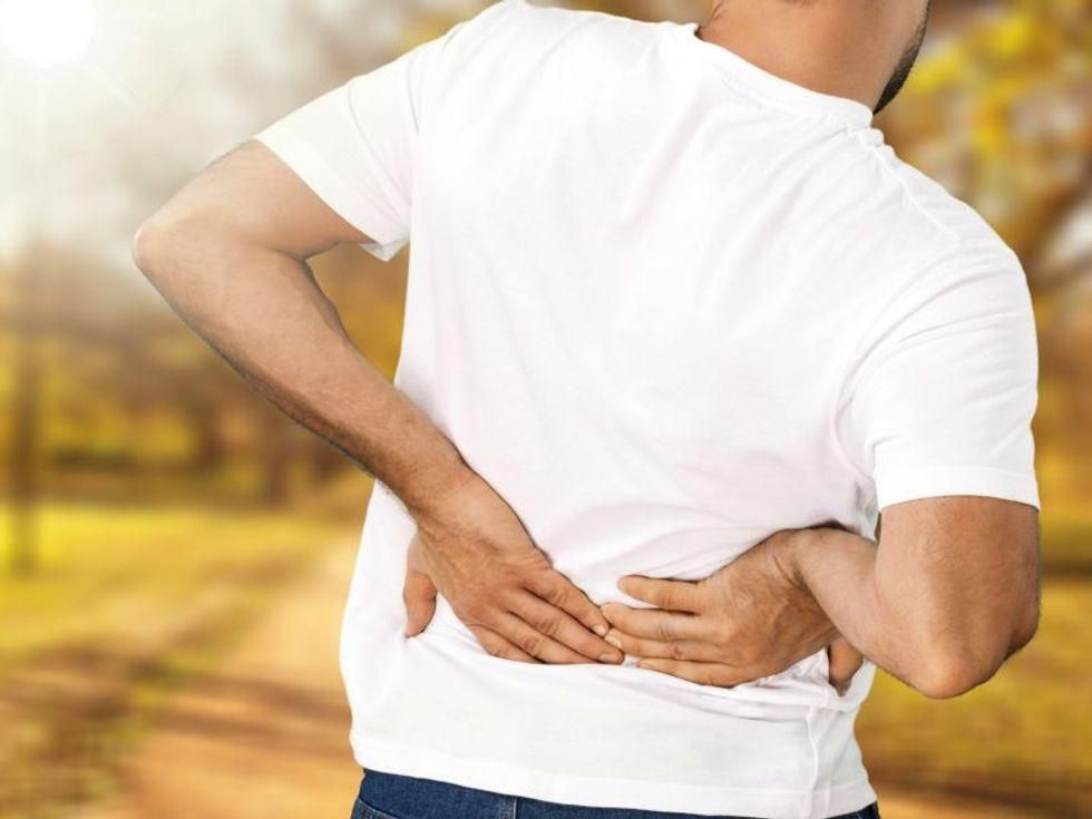 News Picture: More Than Half of Americans Plagued by Back, Leg Pain