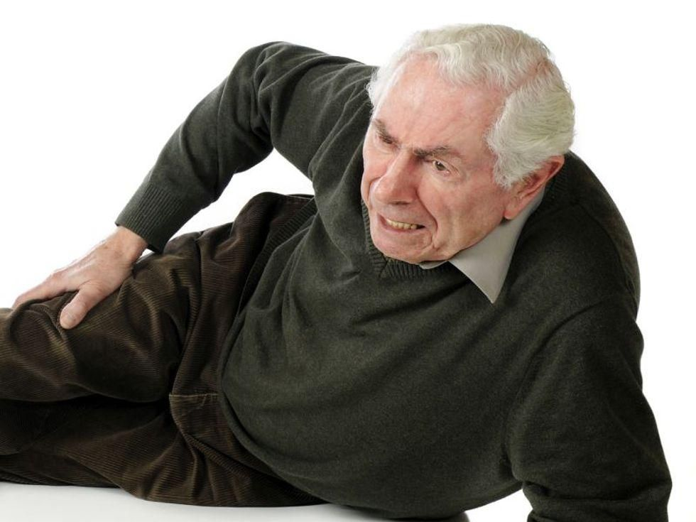 News Picture: Another Pandemic Harm: Seniors May Have Higher Risk of Falling
