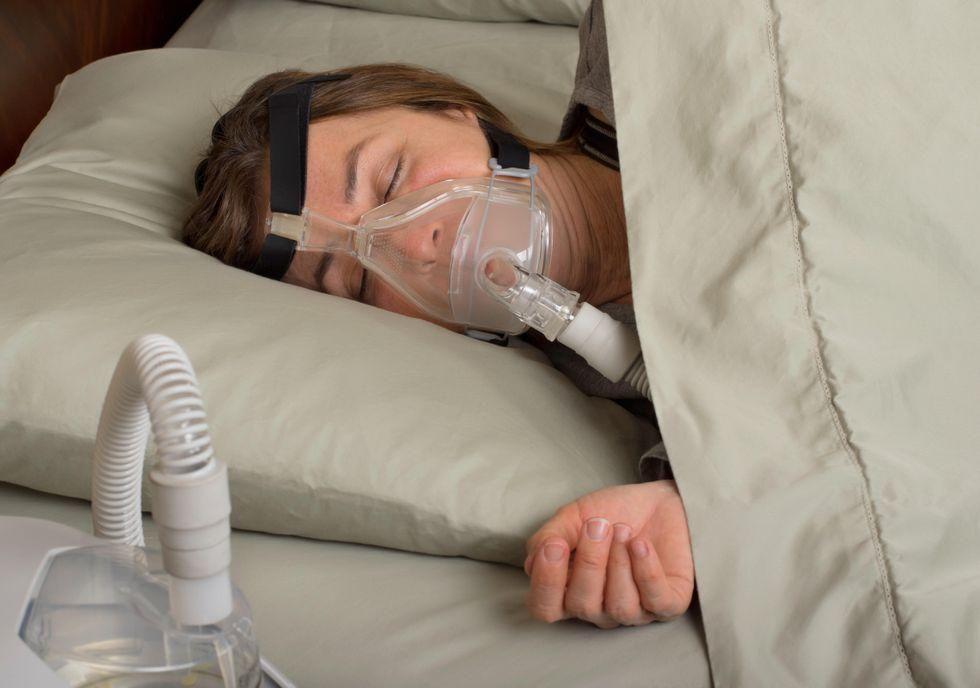 News Picture: Sleep Apnea Doubles Odds for Sudden Death