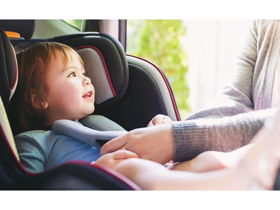 News Picture: Big Road Trip This Weekend? Keep Baby Safe