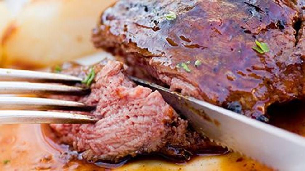 News Picture: Eating Meat Raises Risk of Heart Disease: Study