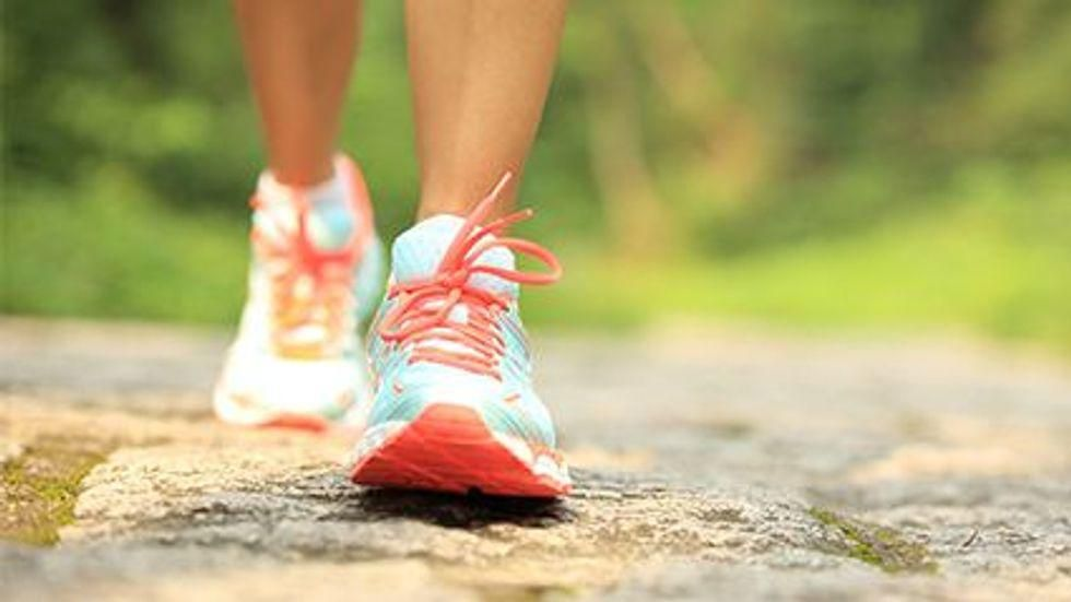 News Picture: Daily Half-Hour Walk Can Greatly Boost Survival After Stroke