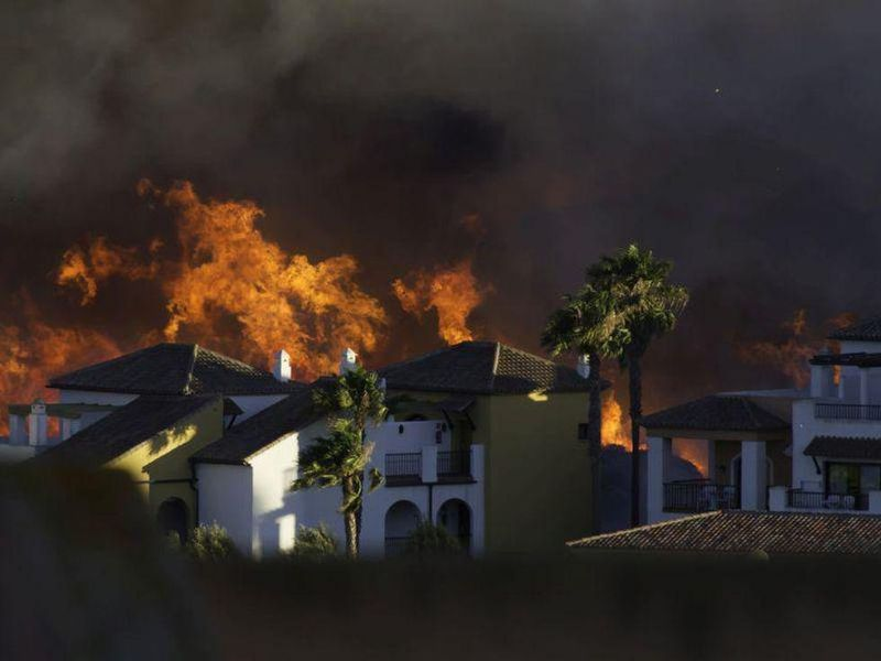 Double Trouble: Wildfires Can Raise COVID Risks
