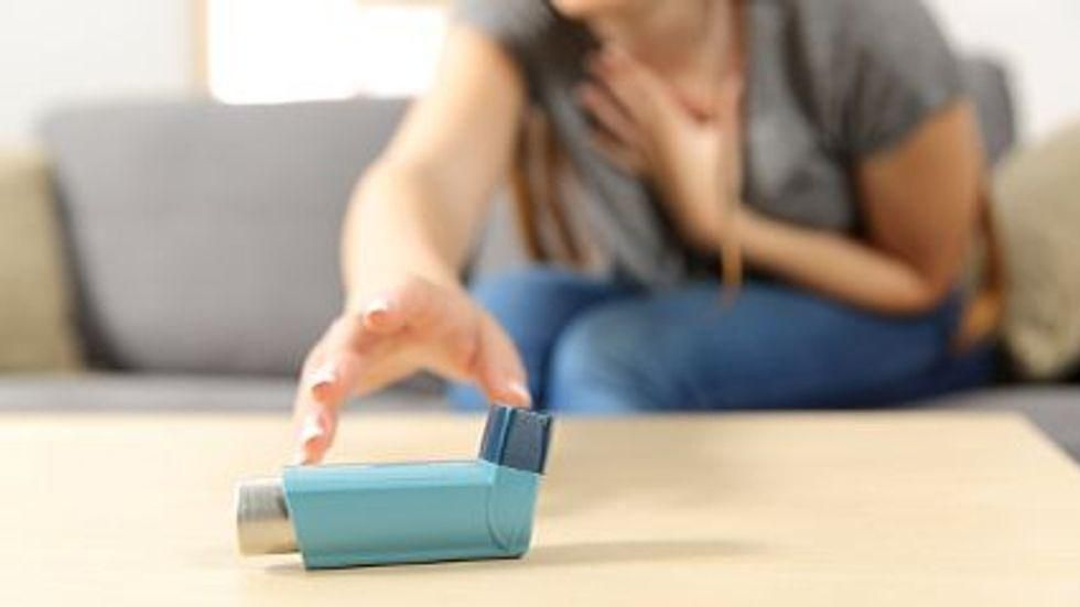 News Picture: Keep Asthma Under Control to Avoid Worse COVID Outcomes: Study