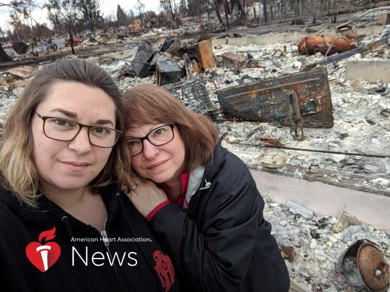 AHA News: Wildfires Can Cause Mental Health Damage That Smolders Years After the Flames Go Out